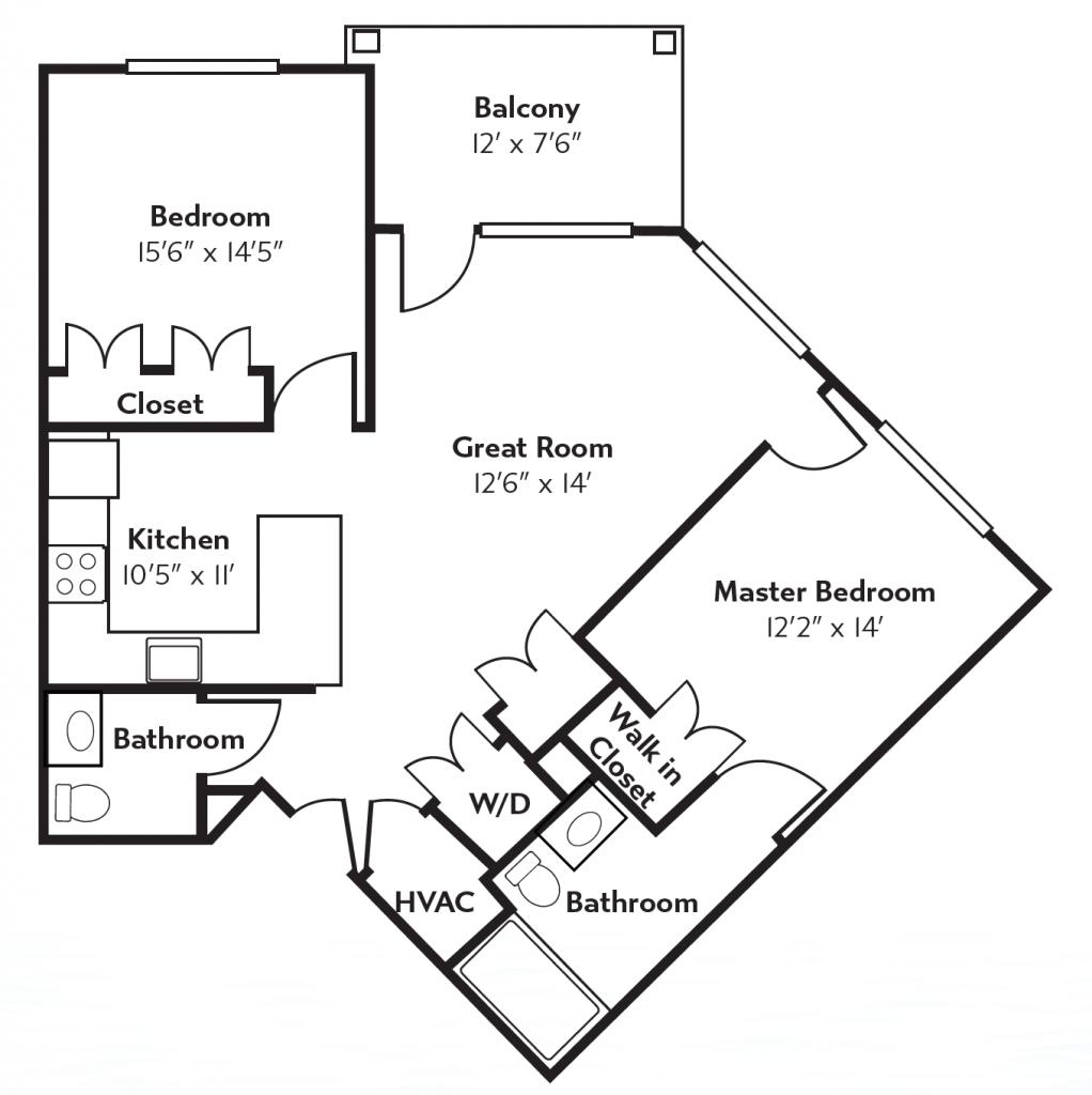Erie floor plans