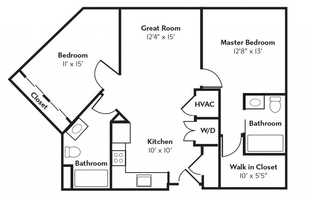 Huron Floor Plan