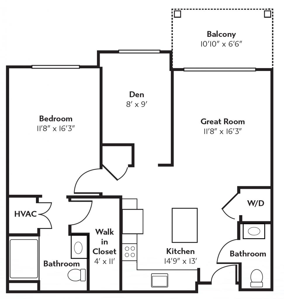 Aspen Floor Plan Layout