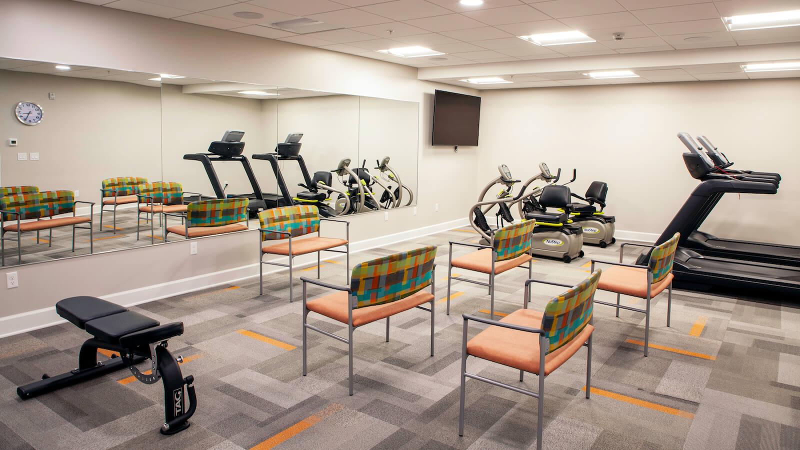Rivertown Ridge Fitness Room